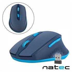 RATO S/FIO NATEC NMY-1424 800-2400 DPI Azul - 2009.0155