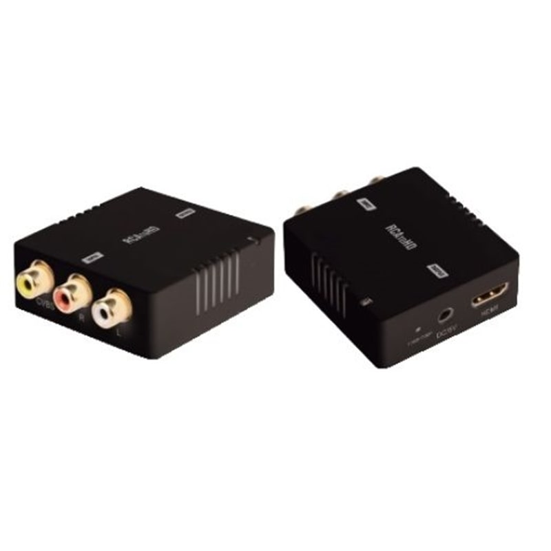 CONVERSOR RCA ->HDMI FEMEA Video Composto+Audio - 2009.0852