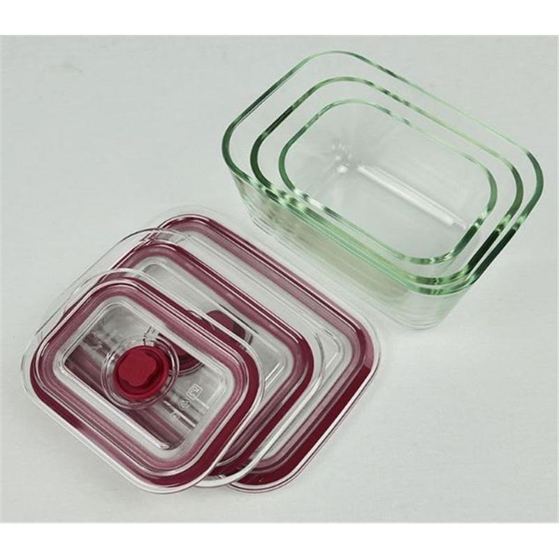 Caixa Alimentos Cristal Kit 0.5+0.8+1.5L Jata HREC4204 - 2010.0697