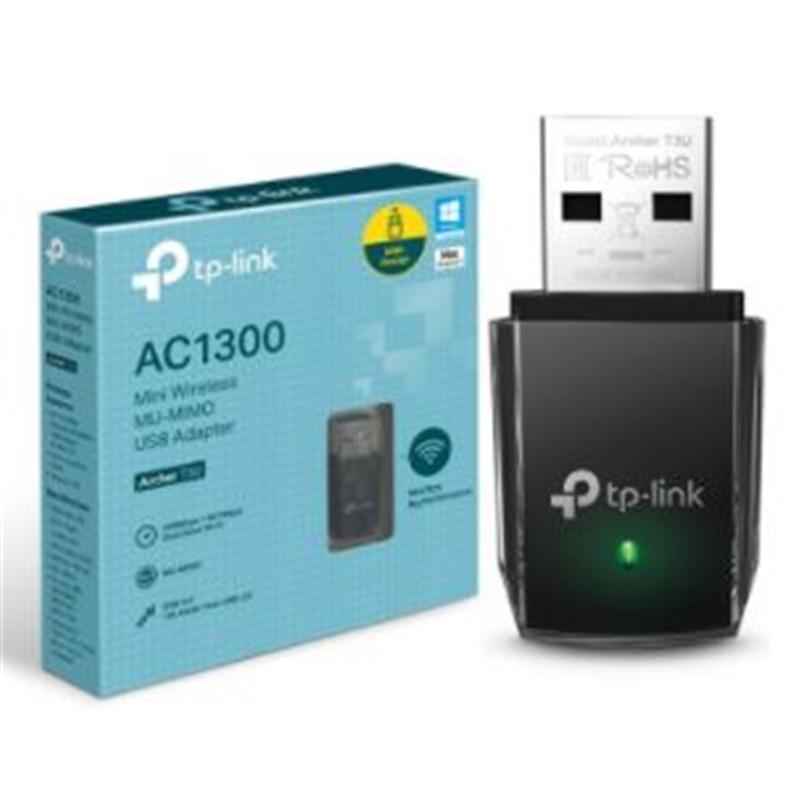 PLACA USB WIFI 867Mbps TP-LINK MU-MIMO Archer T3U - 2007.0699