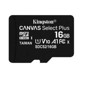 CARTAO MICRO SD 16GB CLASSE 10 100Mbs KINGSTON - 2007.1404