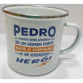 A CANECA DO PEDRO: O HEROI - 2009.2548