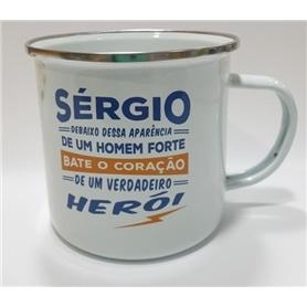 A CANECA DO SERGIO: UM HEROI - 2009.2557