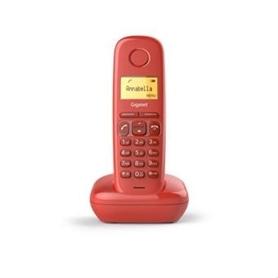 2011.1701_5 - TELEFONE SEM FIO SIEMENS GIGASET A170 RED-2011.1701