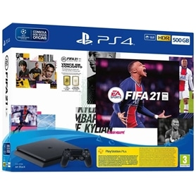 2011.2402 - CONSOLA PS4 PLAYSTATION 4 SLIM 500GB + FIFA 21-2011.2402