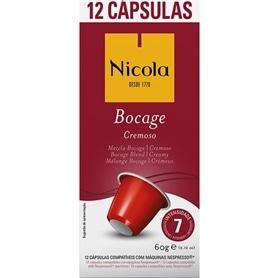 Cápsulas Compatíveis Nespresso Nicola Bocage - Cremoso 12und - 2011.2397