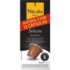 Cápsulas Compatíveis Nespresso Nicola Selecto 12unid - 2011.2396