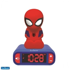 RELOGIO DESPERTADOR LEXIBOOK MARVEL SPIDER MAN - 2012.0407