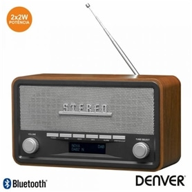 RADIO VINTAGE DENVER DAB-18 BLUETOOTH & AUX - 2012.0401