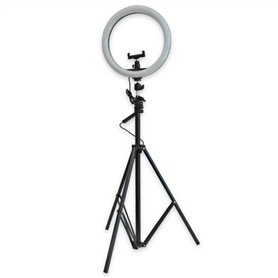 "LUZ ESTUDIO TRIPÉ RING LIGHT 12"" 24W - 2012.2202"