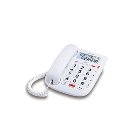 TELEFONE SENIOR ALCATEL TMAX 20 BRANCO - 2010.2001