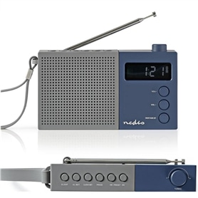 RADIO BOLSO DIGITAL NEDIS RDFM2210BU 50 MEMORIAS - 2102.1612