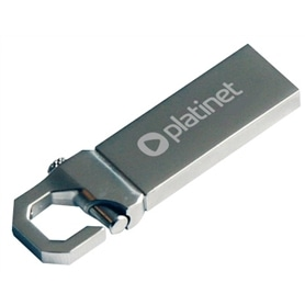 USB DISK PEN DRIVE 64GB - USB 2.0 PLATINT - 2102.2510