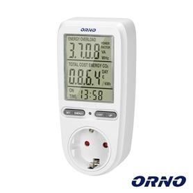 CONTADOR MEDIDOR ENERGIA DE TOMADA Orno OR-WAT-435 - 2103.1054
