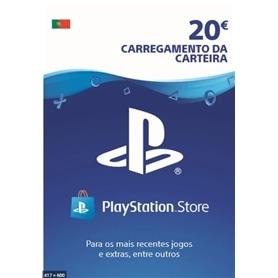 CARTÃO PLAYSTATION NETWORT (CARREGAMENTO NA HORA ! ) 20€ - 9896036