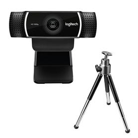 WEBCAM FULL HD 1080P COM MICROFONE LOGITECH C922 PRO - 2104.0250