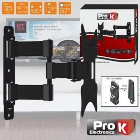 """SUPORTE LCD: 4 PONTOS AJUSTE 13""""-37"""" 35KG PROK FX207 - 2104.2050"""