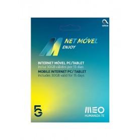 CARTAO TLM INTERNET MOVEL MEO ENJOY 15DIAS ILIMITADO - 2104.0902