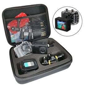 CAMARA AVENTURA FULL HD 1080P +MALA + COMANDO + ACES - 2104.2011