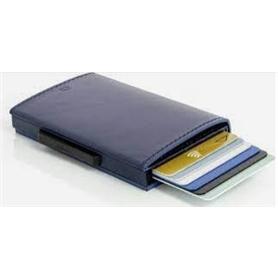 Carteira OGON Cascade Para Cartões Aluminium Pele Blue - 2104.2207