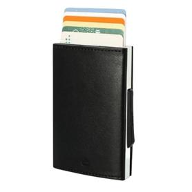 Carteira OGON Cascade Para Cartões Aluminium Pele Black - 2104.2205