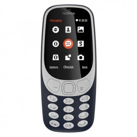 TLM LIVRE DUPLO SIM NOKIA 3310 DS DARK BLUE - 1708.0301