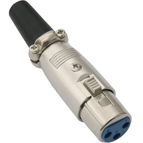 Ficha Canon XLR Femea 3p - 44020270