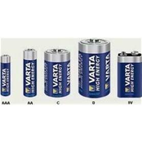 Pilha Varta Alkalina 9V 4922 High Energy - PIL-VARTA+9V