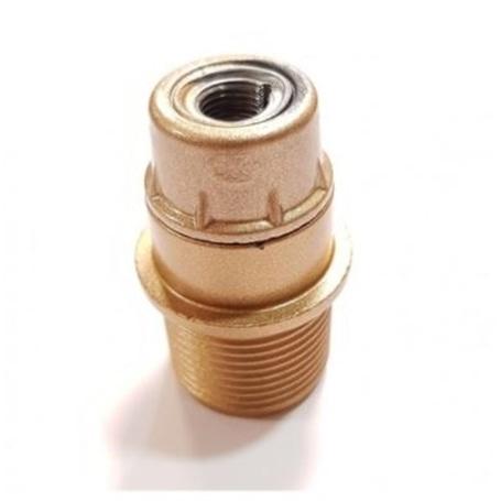 Suporte Lâmpada E14 Abajour Dourado - 609D
